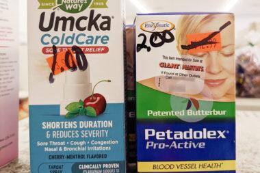 Discount Grocery Item of the Day – Umcka Coldcare & Petadolex